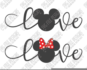 Mickey Mouse Valentine Clipart Image