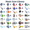 Music Icon Library Image