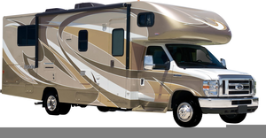 Motor Homes Clipart Image