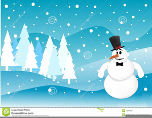 Animated Winter Scene Clipart Free Images At Clker Com Vector