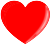 Red Heart 3 Clip Art