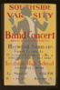 Southside Varsity Band Concert, Harvey A. Sartorius, Director, Southside High School, Rockville Centre Harwood Simmons, Guest Conductor. Clip Art