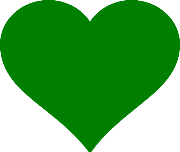 green hearts background - photo #23