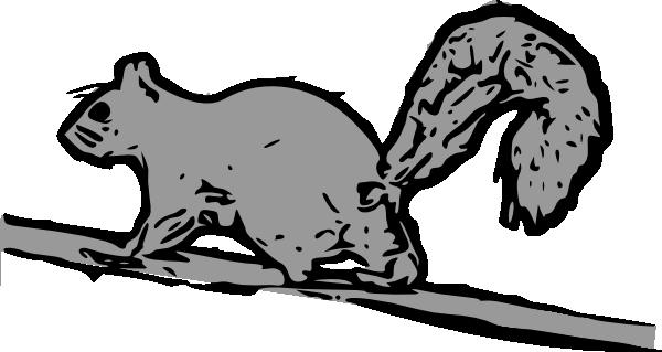 Squirrel Clip Art at Clker.com - vector clip art online ...