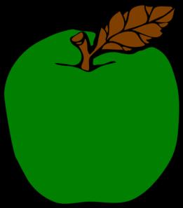 Green Apple Clip Art at Clker.com - vector clip art online ...