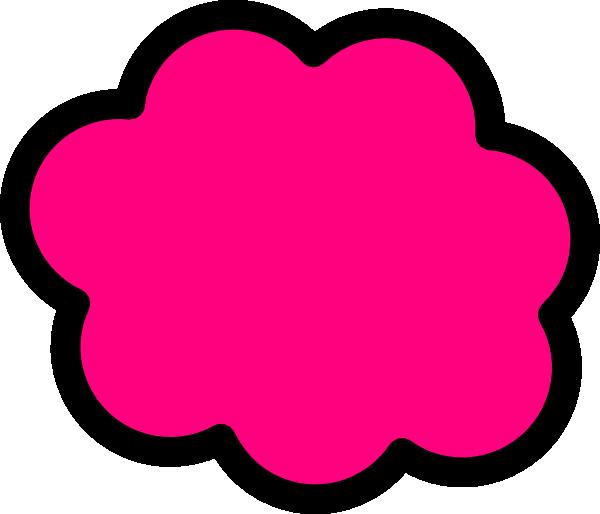 pink cloud clip art at clker com vector clip art online clip art dunkin donuts clipart duckies