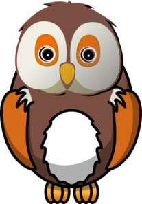 owl clip art at clker com vector clip art online Black Line Drawings of Owls Vector Black and White Owl