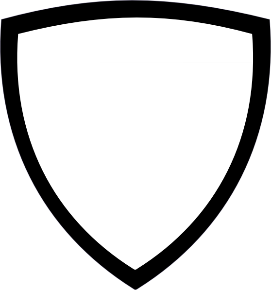 white shield clip art at clkercom vector clip art