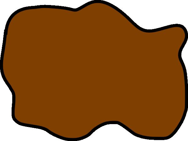 Brown Mud Puddle Clip Art at Clker.com - vector clip art ...