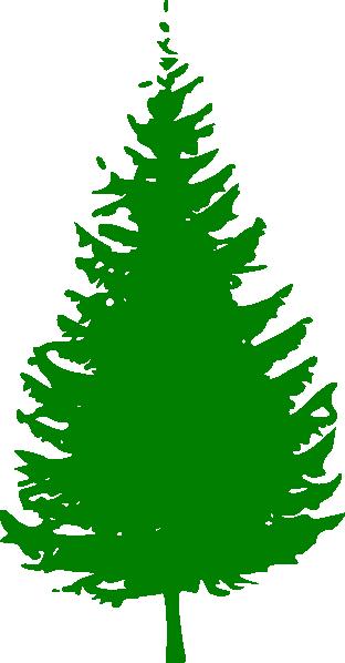 pine tree green clip art at clkercom vector clip art