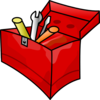 Tool Box Without1 Tool Clip Art
