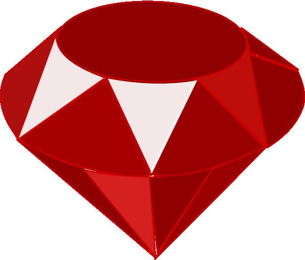 Ruby One Clip Art at Clker.com - vector clip art online ...