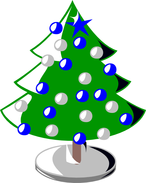 Christmas Tree Clip Art At Clker.com