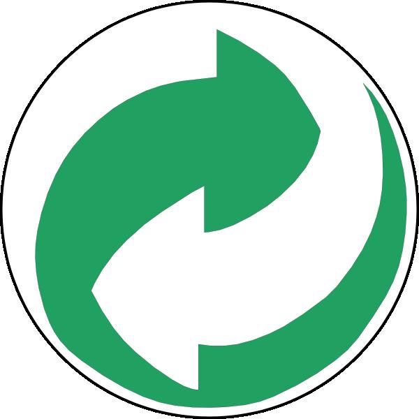 Recycling Symbol Green Clip Art at Clker.com - vector clip ...