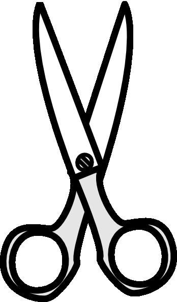 black   white scissors clip art at clker com vector clip glue stick clipart glue clip art black and white