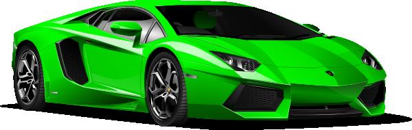 Green Lamborghini Clip Art At Clker Com Vector Clip Art
