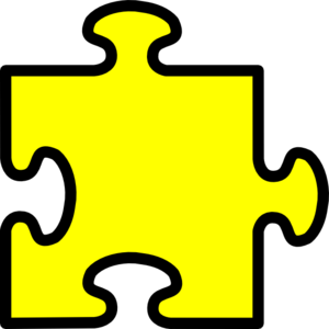 yellow puzzle piece clip art at clker com vector clip art online rh clker com puzzle pieces clip art free puzzle pieces clip art world