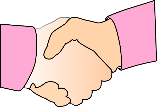 children handshake clipart - photo #8