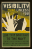 Visibility Zero Unless You Lend Your Binoculars To The Navy 6 X 30 Or 7 X 50 Zeiss Or Bausch And Lomb : Pack Carefully And Send To Navy Observatory, Washington, D.c. Clip Art