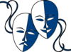 Theatre Masks  Clip Art