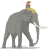 Elephant Side Clip Art