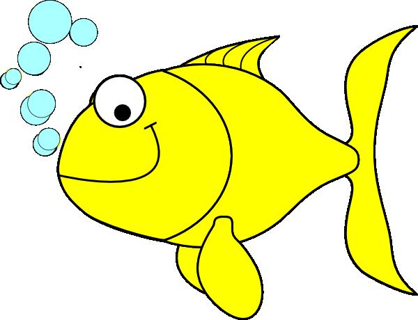 Fish-yellow Clip Art at Clker.com - vector clip art online ...