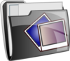Picture Folder Icon Clip Art