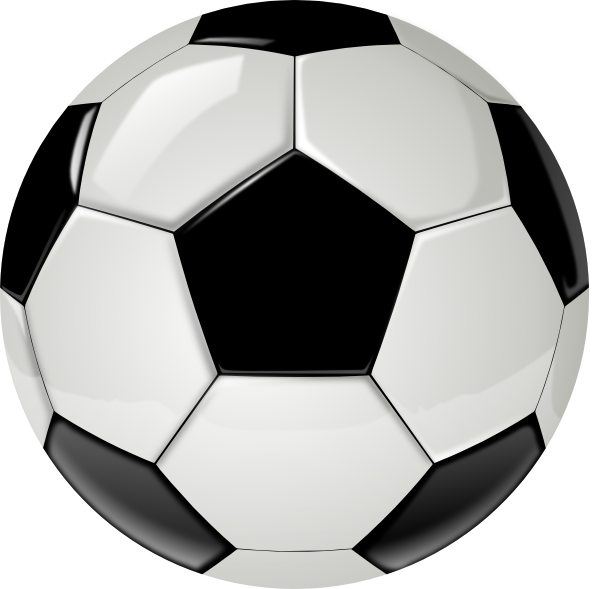 real soccer ball by ocal without shadow clip art at clker clip art of soccer ball black and white clipart of soccer ball heart
