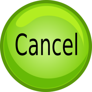 Cancel Button Clip Art at Clker.com - vector clip art ...