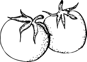 tomatoes black and white clip art at clker com vector Wheat Graphic