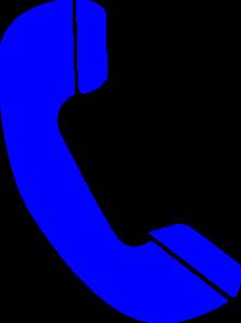 Phone Blue Clip Art at Clker.com - vector clip art online ...
