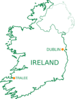 Tralee Ireland Map Clip Art