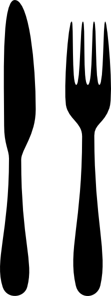 Fork And Knife Clip Art at Clker.com - vector clip art ...