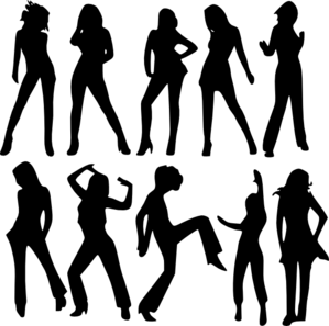 female silhouettes clip art at clker com vector clip art vector stick figures holding hands stick figure vector download