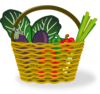 Basket Of Vegetables Clip Art