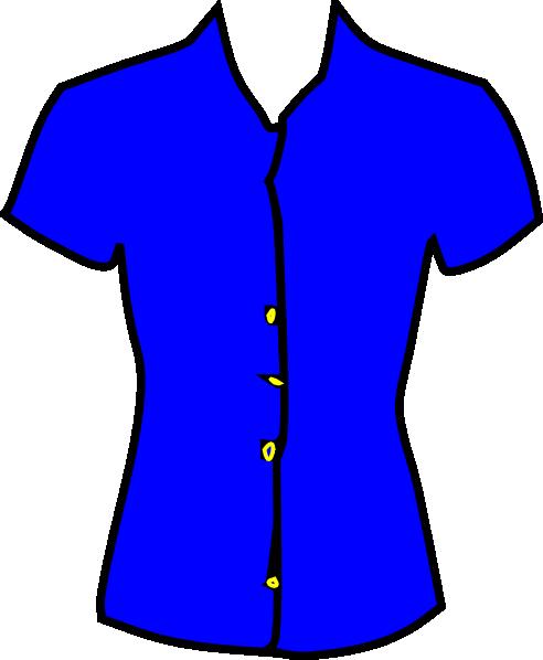 White Men That Love Black Women >> Blue Blouse Clip Art at Clker.com - vector clip art online, royalty free & public domain