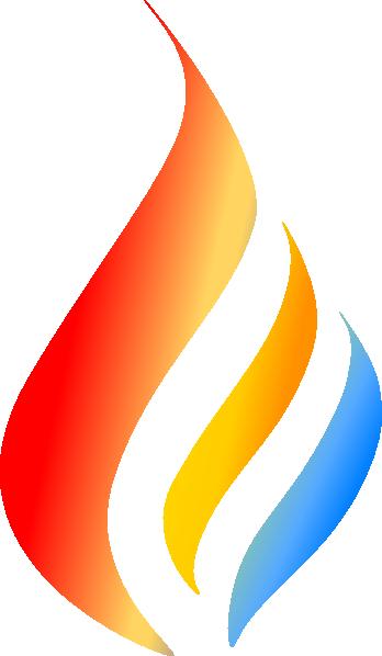 Maron Flame Logo 5 Clip Art at Clker.com - vector clip art ...