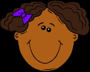 Cartoon Girl Face Clip Art At Clker Com Vector Clip Art