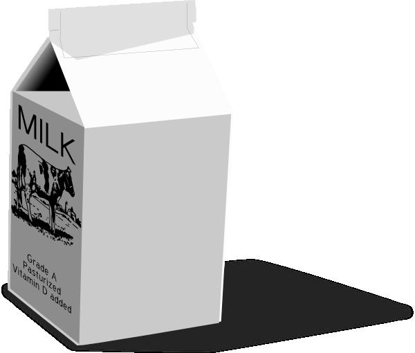 Milk carton clip art at vector clip art online for Got milk template