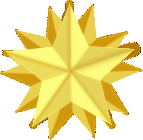 golden star clip art at clker com vector clip art online Orange Star Clip Art Orange Star Clip Art