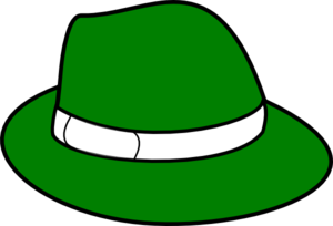 Green Hat Clip Art at Clker.com