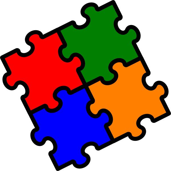 Clipart Cisp Puzzle on Balance Math Clip Art