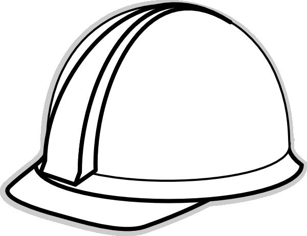 White Hard Hat Clip Art At Clker Com Vector Clip Art