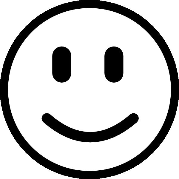 Line Drawing Smiling Face : Smile clip art at clker vector online