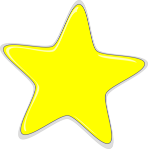 yellow star clip art at clker com vector clip art online sun icon vector png sun moon icon vector