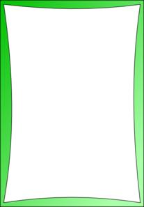 Simple Green Frame Clip Art At Clker Com Vector Clip Art