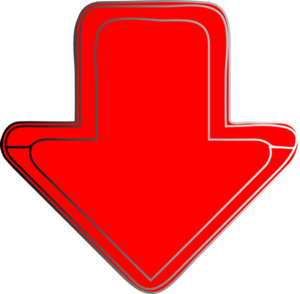 Red-arrow-down Clip Art