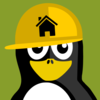 Builder Penguin Clip Art