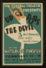 The Federal Theatre Presents  Up Pops The Devil  3 Act Comedy By Albert Hackett And Frances Goodrich At The Waterloo Theater. Clip Art