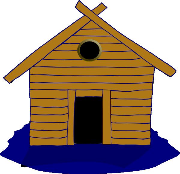 House Logo Clip Art At Clker Com: Log Home And Seasonal Clip Art At Clker .com